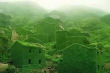 სიმწვანეში ჩაფლული სამოთხე, ჩინეთის მიტოვებული სოფელი ნამდვილი საოცრებაა