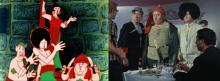 პოპულარული ნახატი ფილმების გმირების ცნობილი და უცნობი პროტოტიპები