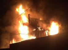 მოსკოვში Samsung Galaxy-ის აფეთქების შედეგად  ოჯახი სახლის გარეშე დარჩა(ვიდეო)