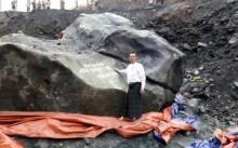 აღმოჩენილია უზარმაზარი ნეფრიტის ქვა,რომლის ფასი 140 მილიონი დოლარია