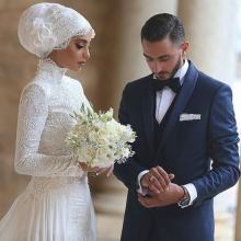 10 ულამაზესი პატარძლის საქორწინო ჰიჯაბი