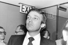 13 შავ- თეთრი ფოტო ამერიკის შეერთებული შტატების 45-ე პრეზიდენტის დონალდ ტრამპის 1970 წლის ალბომიდან