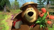 მაშა და დათვი - ცოტა რამ მულტსერიალის შესახებ