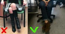 რატომ არის სახიფათო ფეხი-ფეხზე გადადებული ჯდომა - აუცილებლად გაითვალისწინეთ!