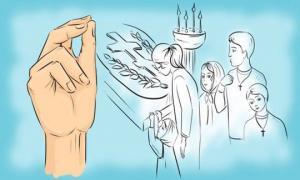 """რას აღნიშნავს სამი თითი პირჯვრის წერის დროს და ლოცვა """"მამაო ჩვენო""""?– ის, რაც აქამდე არ იცოდით"""