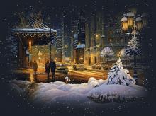 ორი მეზობელი და თოვლი