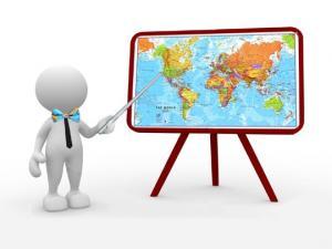 მსოფლიოს პოლიტიკური რუკა და სწორი ადამიანი