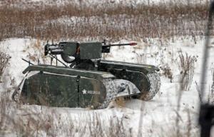 """აი ასე გამოიყურება სპეციალურად ესტონეთის არმიისათვის შექმნილი მინი ტანკი """"ADDER"""", რომელიც დისტანციურად იმართება"""