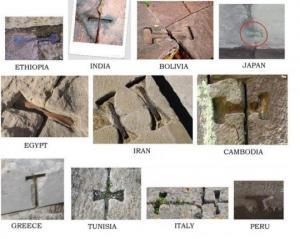 ძველი ცივილიზაციების 10 ყველაზე საოცარი დამთხვევა (პირამიდა, გირჩი, სპირალი, სვასტიკა...)
