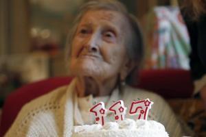 117 წლის ქალბატონი ხანდაზმულობის საიდუმლოს ამხელს