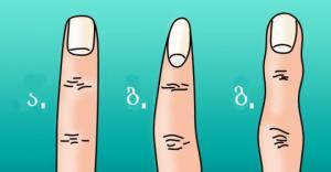 თქვენი თითების ფორმას ბევრი რამის თქმა შეუძლია თქვენზე