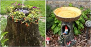 როგორ გავაფორმოთ სახლი და ეზო ხის კუნძებით – 70 საოცრად ორიგინალური იდეა (ნაწილი II)