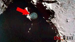 ანტარქტიდაში აღმოჩენილი უცნაური ადგილი, შესაძლოა უცხოპლანეტელების ბაზა იყოს