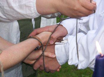 ირლანდიური საქორწინო ტრადიციები
