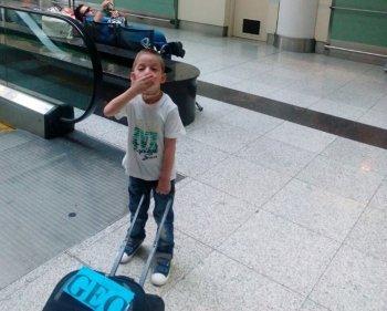 გერმანიაში გარდაცვლილი 4 წლის ბავშვი გორში დაკრძალეს