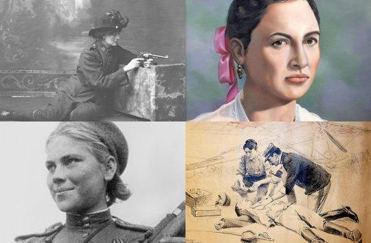 10 მებრძოლი ქალი, რომლებიც ისტორიამ არ უნდა დაივიწყოს