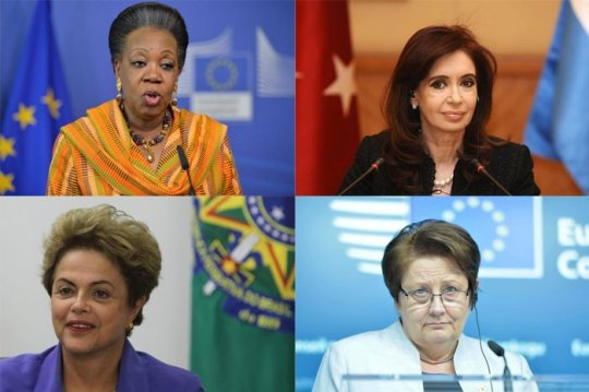 ქვეყნები, რომლებსაც მართავენ ქალები!
