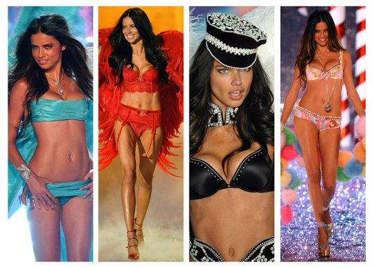 ადრიანა ლიმა Victoria's Secret-ის პოდიუმზე