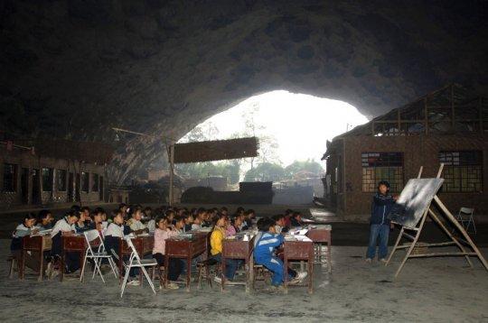 მსოფლიოს ყველაზე უცნაური სკოლები,  რომელთა არსებობა ძნელი დასაჯერებელია