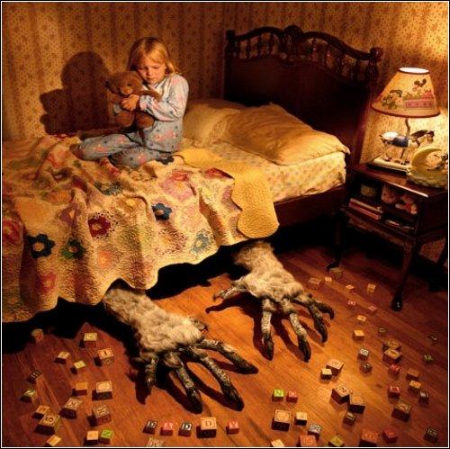ფოტოპროექტი ბავშვების შიშები Joshua Hoffine-გან
