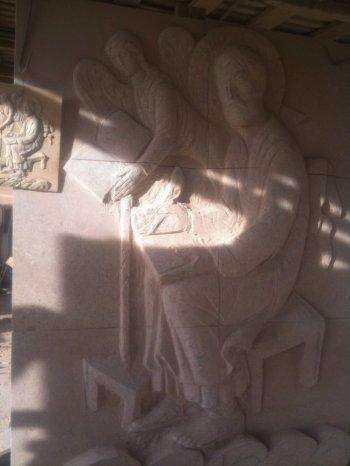 მახათას მთაზე მშენებარე ივერიის ღვთისმშობლის ხატის სახელობის ტაძარი