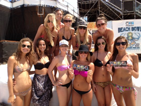 Female california dating show