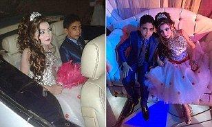 არაკანონიერი ქორწინება ეგვიპტეში,  11 წლის გოგონა და 12 წლის ბიჭი დააქორწინეს