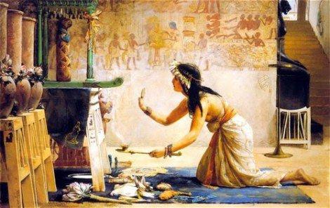 ძველი ეგვიპტური რიტუალები მოსაზრებები ამათუ იმ რიტუალზე