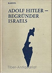 წიგნი ადოლფ ჰიტლერი ისრაელის შემქმნელი
