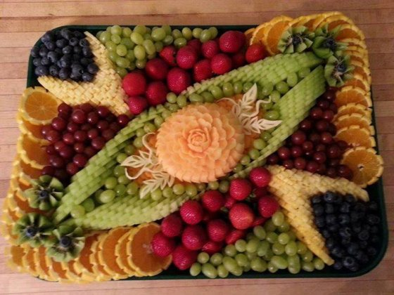 იფიქრებდით, რომ ხილი ასე  ლამაზი  შეიძლება იყოს?
