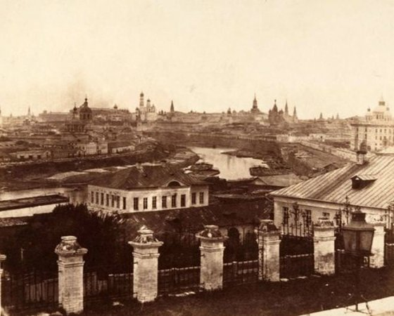 კრემლი 1852 წელს