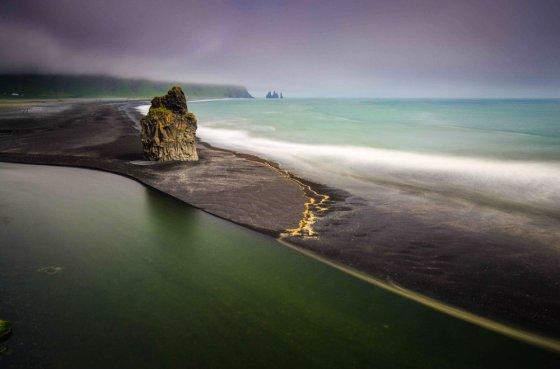 შავი ქვიშები ისლანდიაში