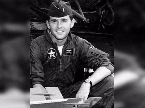 ახალგაზრდა ჯორჯ ბუში - აშშ-ს ყოფილი ლიდერი