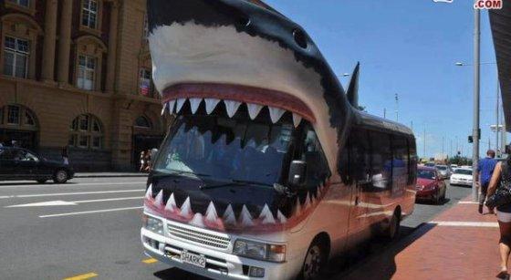 საშინელი ავტობუსია