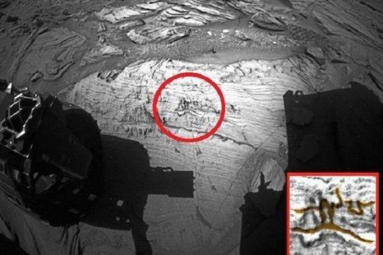 მარსზე   მორბენალი ადამიანის ნახატი აღმოაჩინეს
