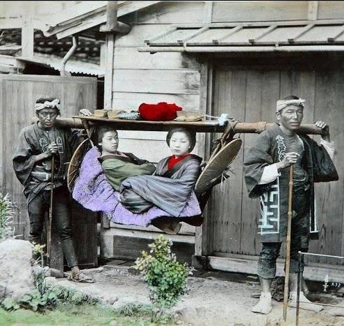 იაპონური ტაქსი. 1886 წელი