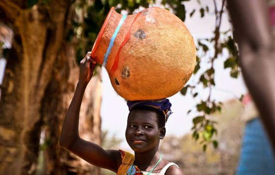 აფრიკელი ქალი