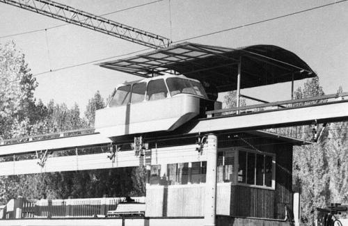 ექსპერიმეტული მონორელსი-კიევი,1967 წლის გამოფენა