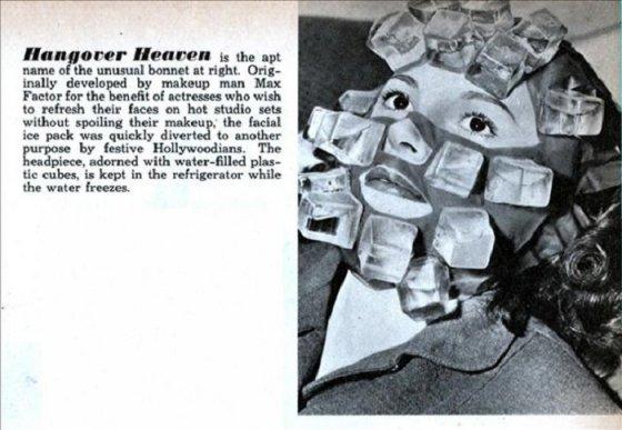 """""""ყინულოვანი ნიღაბი"""" - რომელიც კანზე მაკიაჟის სწრაფ შერწყმას უზრუნველყოფდა."""