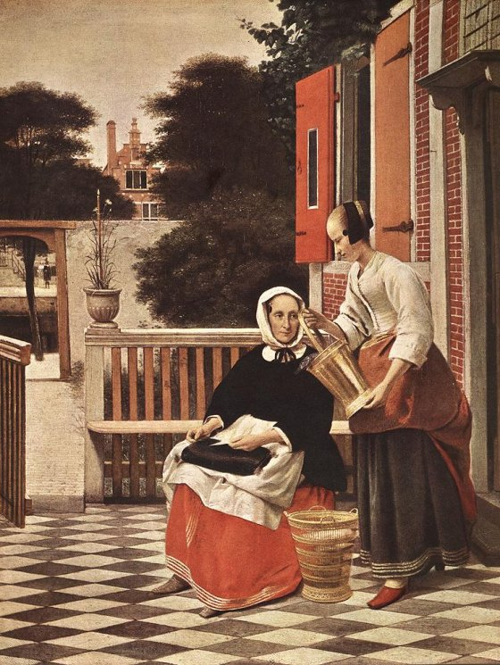 ქალი და შინამოსამსახურე