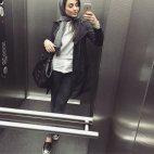 ირანელი გოგონას სელფი
