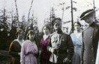 პირველი ფერადი ფოტო რომანოვების საგვარეულოს ისტორიაში