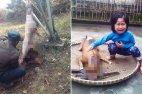 ამ ვიეტნამელმა გოგონამ  ხორცის მაღაზიის თაროზე დადებულ შემწვარ ძაღლში  თავის  ძაღლი ამოიცნო