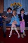 ალენ დელონი, მარიანა ფეიტფული (Marianne Faithfull)  და მიკ ჯაგერი, 1967 წელი