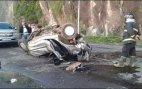 ჩაქვში. ავტოსაგზაო შემთხვევის შედეგად სამი ადამიანი დაიღუპა