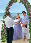ანფისა ჩეხოვამ და გურამ ბაბლიშვილმა სეიშელის კუნძულზე  ოფიციალურად იქორწინეს
