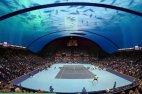 ტენისის წყალქვეშა კორტი დუბაიში.