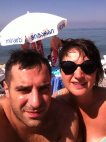 ვანიკო მეუღლესთან ერთად