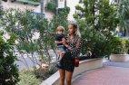 ანუკი შვილთან ერთად