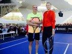 მსოფლიო ჩოგბურთის ორი ძალზე გამოჩენილი პიროვნება. შარაპოვა და აგასი